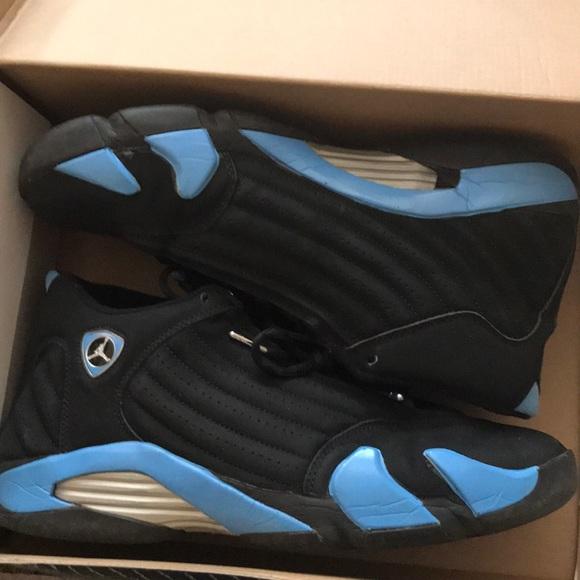 new product 85357 e5b8c Jordan 14 University Blue 2005 size 12